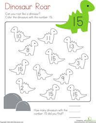 Small Picture Number 15 Coloring Page Worksheet Educationcom