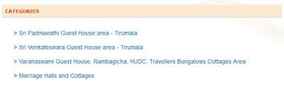 Tirumala Rooms Online Booking Tirupati Ttd Cottages