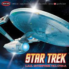 com polar lights star trek uss enterprise a model kit toys