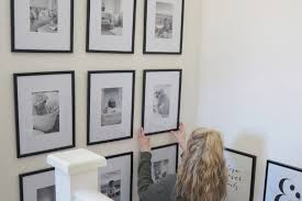 diy tutorial gallery wall with free
