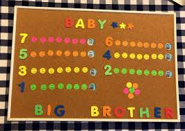 Baby Countdown Calendar Diy Countdown To Baby Calendar A Lovely Way To Prepare Your