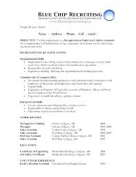 Admin Resume Objective Example Resume For Administrative Position Wlcolombia