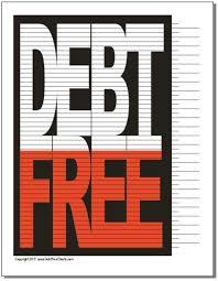 Free Printable Debt Free Charts Debt Free Chart Debt Free Savings Chart Debt Tracker