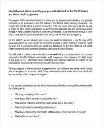 Nursing Personal Statement Examples Goal Statement For Nurse Practitioner Graduate School Examples