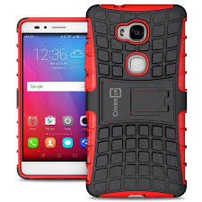 huawei gr5 case. coveron huawei honor 5x / gr5 case, atomic series slim protective kickstand phone cover gr5 case