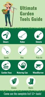 garden tools the complete list with