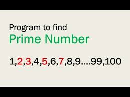 Prime Number Chart Up To 2000 Write A Program To Print Prime Numbers Between 1 To 100
