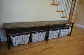 entryway bench shoe storage. Entryway Bench With Shoe Storage Rustic Wood K