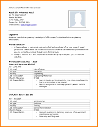 Resume Sample Pdf Malaysia Cv For Job Application Pdf Example