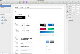 Style Template A Free Web Style Guide Template For Sketch Rafal Tomal