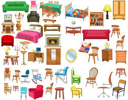 kitchen furniture clipart. a variety of furniture clip art kitchen clipart