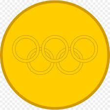 Design An Olympic Medal Template Gold Circle