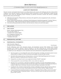 Enchanting Sample Resume For Assistant Professor In Engineering College Pdf  36 For Your Professional Resume Examples with Sample Resume For Assistant  ...