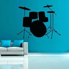 drum set wall art vinyl zoom metal on metal drum set wall art with wall arts drum set wall art vinyl zoom metal drum set wall art