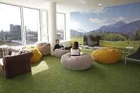 office relaxation. Chill Out - Trivago Office Relaxation