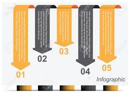 情報グラフィック デザイン テンプレートですアイデアのランキングや