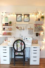 craft room lighting. Lighting Sewing Room With Tilly And The Buttons: Space Craft