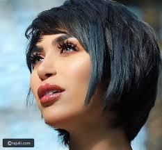 صور أجمل تسريحات وقصات شعر الدكتورة خلود تاجك