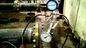 Water Pressure Chart Recorder Pressure Test For Pipe Skid Metering C W Chart Recorder