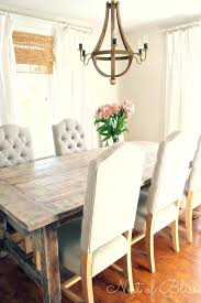 round chandelier over rectangular table pictures gallery of creative of farmhouse dining table and chairs rustic