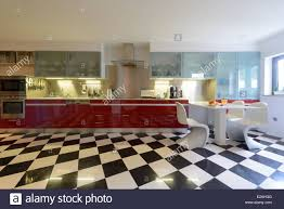Checkerboard Kitchen Floor Checkered Floor Stock Photos Checkered Floor Stock Images Alamy