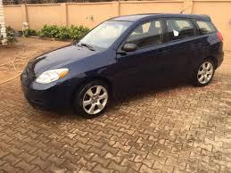 2003 Toyota Matrix Manual Drive For Sale 1.450m - Autos - Nigeria