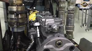 <b>Excavator</b> Main Hydraulic Pump Receiving Pressure & Flow Rate Test