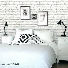 brick wallpaper bedroom beautiful white brick wallpaper bedroom image ideas brick effect wallpaper bedroom ideas