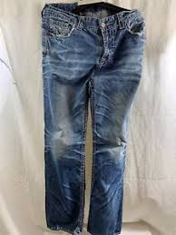 Mens Big Star Jeans Size 38x42 Blue Denim Thick Stitches Ebay