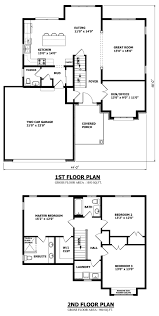 canadian home designs custom house plans stock over garage brampton two y plan a ment attached