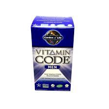 garden of life vitamin code men s multi 240 vegetarian capsules