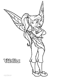 These black and white fairies coloring pages are free. Printable Disney Fairies Coloring Pages For Kids