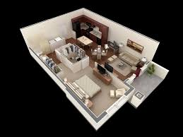 37 1 bedroom house apartment plan