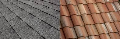 how do asphalt shingles compare to concrete roof tile