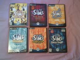 the sims 1 base game all 7 expansions plete collection pc game bundle 1 of 1