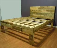 twin platform bed frame. Natural Wood Twin Bed Frame Pallet 3 In Color Platform D