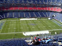 Nissan Stadium Seating Chart With Rows Nissan Stadium Section 314 Tennessee Titans