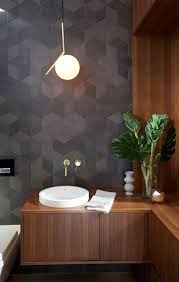 pendant lighting for bathrooms. this simple feature pendant suits the simplistic element of bathroom bronze piece on ties in with tap wear lighting for bathrooms
