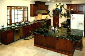 Kitchen Floor Ideas With Cherry Cabinets