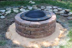 brick fire pit how to build a with bricks make in pits inspirations 13