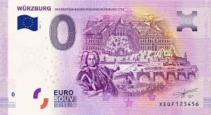 Nein, die überlegungen in der ezb sind sogar die 500 euro scheine. Balthasar Neumann Ziert Wurzburger Null Euro Schein