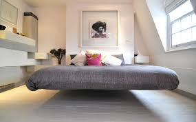Minimalist asian inspired bedroom View in gallery With no headboard .