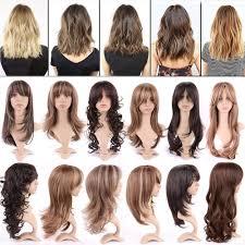 Aliexpress.com : Buy Amazing Women Long Hair Full Wig Heat ...