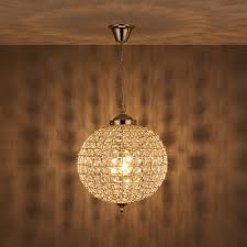 sphere lighting fixture. Freya Crystal Sphere Nickel Effect Pendant Ceiling Light Lighting Fixture I