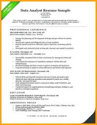 Modern Professional Resume For Data Analyst Data Analytics Resume Hotwiresite Com