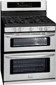 C 30 In Gallery Series Double Oven Gas Range  Stainless Steel