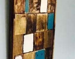 reclaimed wood wall decor wood wall art wood wall sculpture modern wood art on southwestern wood wall art with recycled geometric wood wall art southwest colors wood wall