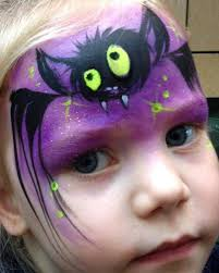 lynn fraser bat face painting design