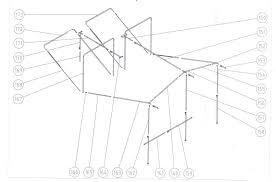 Dorema Awning Sizes Chart Awning Frame Parts Dorema Canvas Caravan Replacement Boat