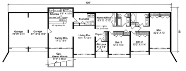 Earth Sheltered Home Floor Plans | First Floor Plan Of ...